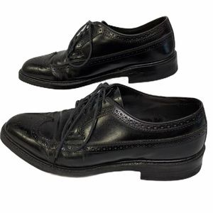 Hanover Mens Masterflex Leather Oxford Wingtips Si